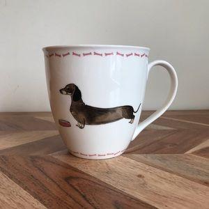 NEW Milly Green Dachshund Mug